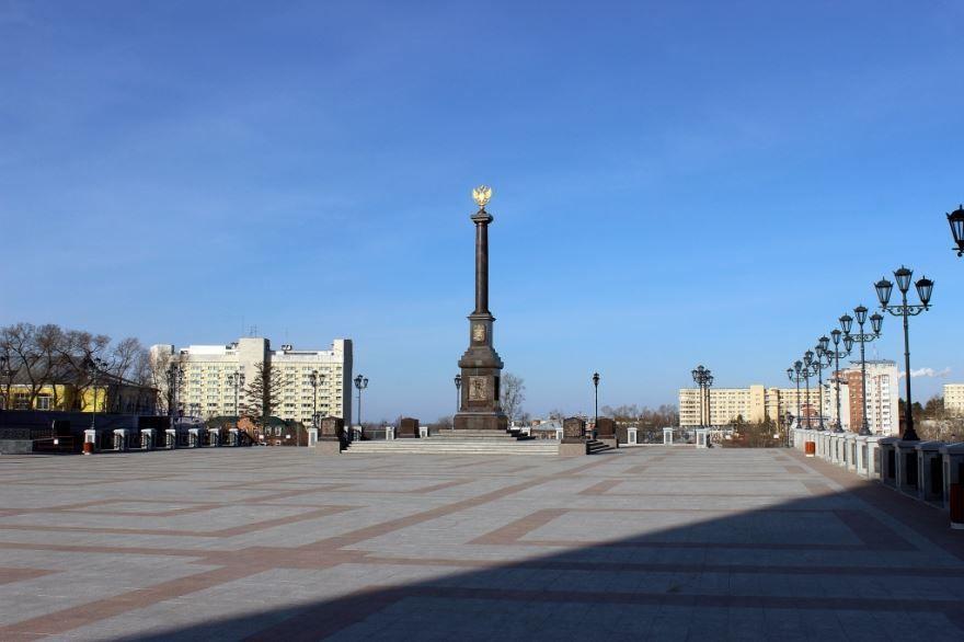 Город Хабаровск город Воинской Славы