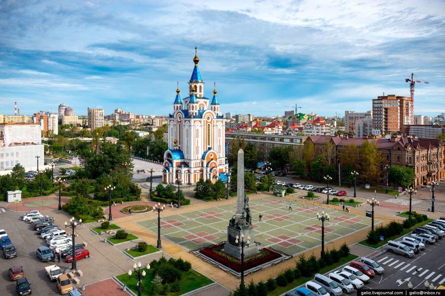 Комсомольская площадь город Хабаровск