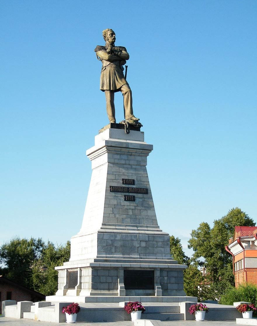 Памятник графу Муравьеву-Амурскому город Хабаровск