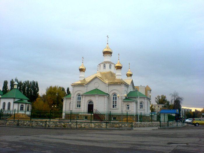 Смотреть красивое фото Церковь в городе Фролово