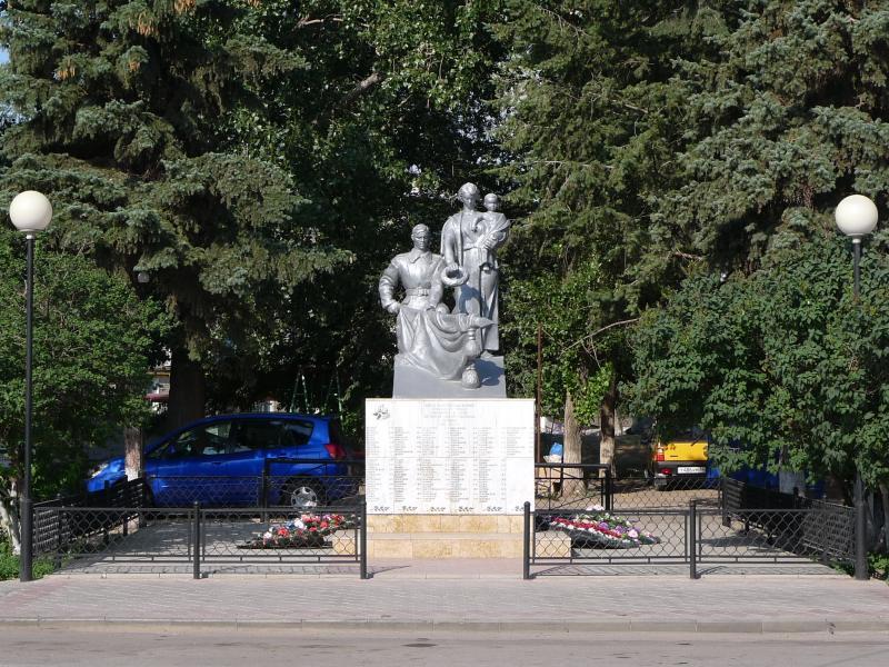 Памятник погибшим в годы Великой Отечественной войны город Фролово