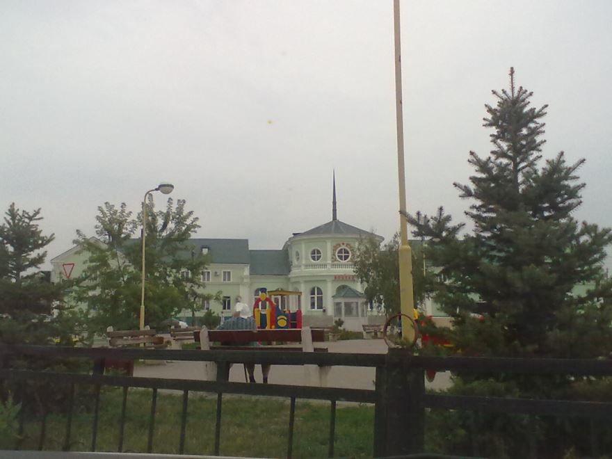 Железнодорожный вокзал город Фролово 2019