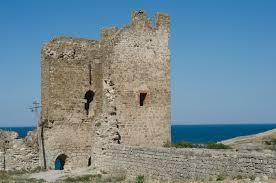 Крепость Кафа башня Криско город Феодосия