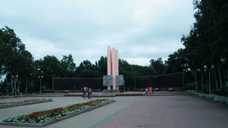 Вечный огонь город Уссурийск