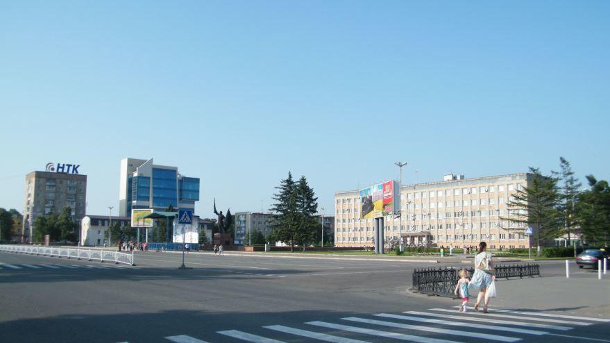 Смотреть красивое фото центр города Уссурийска