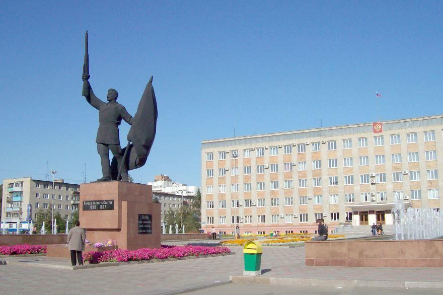 Здание администрации города Уссурийска