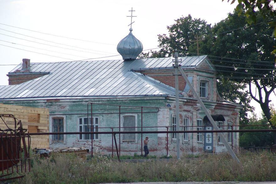 Старая церковь город Усолье
