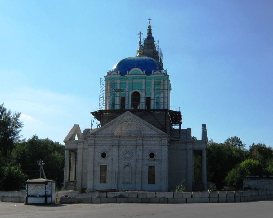 Богоявленский собор город Усмань