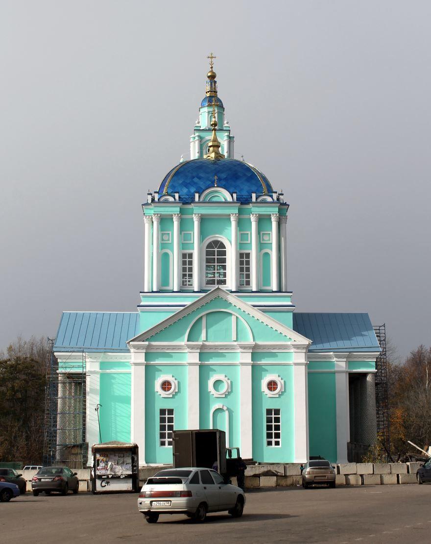 Храм Богоявления Господня город Усмань