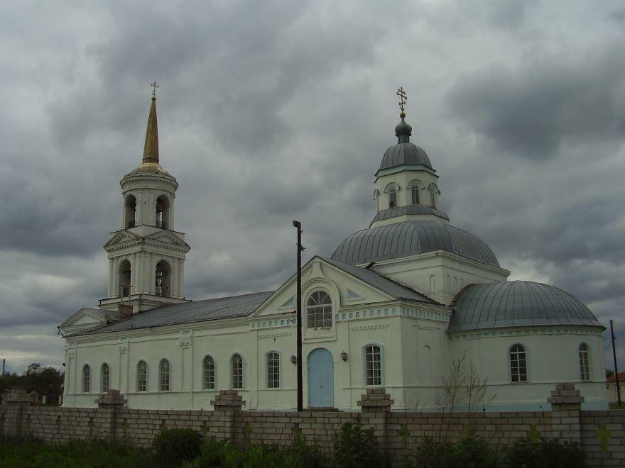 Храм Казанской иконы Божией Матери город Усмань