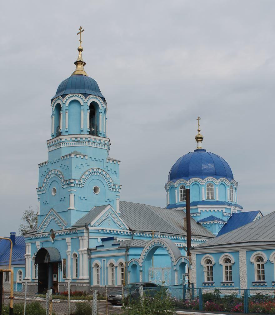 Свято-Успенская церковь город Усмань
