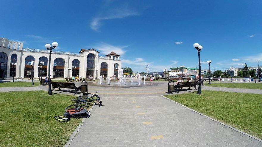 Смотреть красивое фото фонтанная площадь город Урюпинск