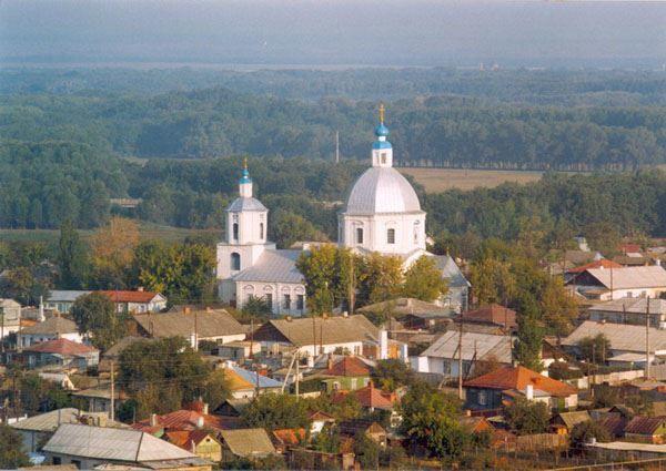 Скачать онлайн бесплатно лучшее фото красивый вид города Урюпинска в хорошем качестве