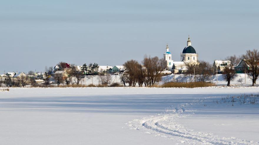Смотреть красивое фото вид на город Урюпинск в хорошем качестве