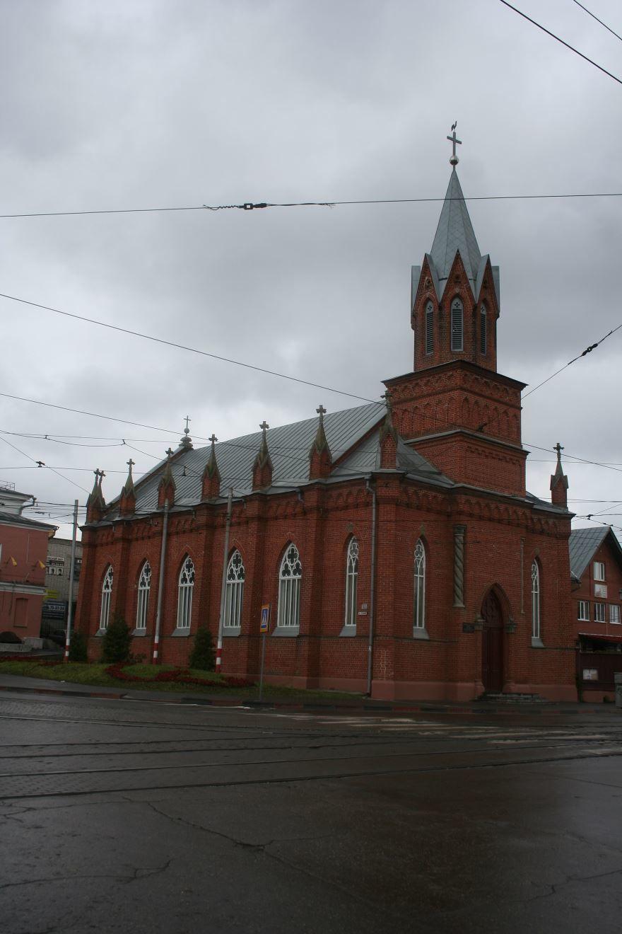 Евангелическолютеранская церковь город Ульяновск