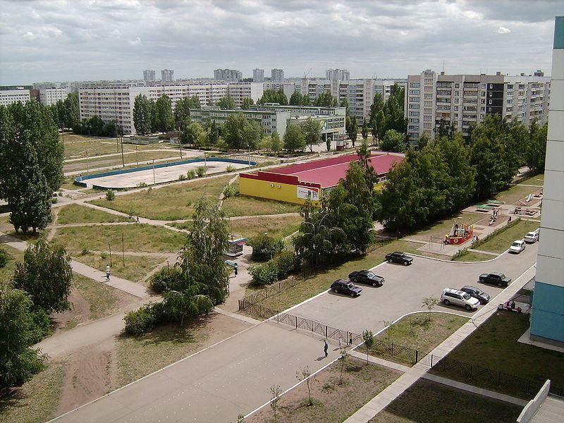 Микрорайон Новый город город Ульяновск