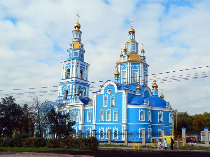 Спасо-Вознесенский кафедральный собор город Ульяновск