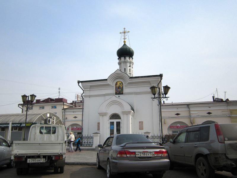 Часовня Иннокентия Иркутского город Улан-Удэ