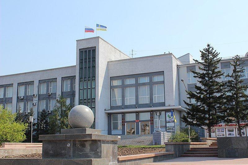 Здание Мэрии город Улан-Удэ