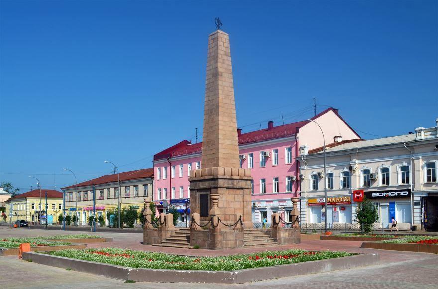 Памятник борцам за власть Советов город Улан-Удэ