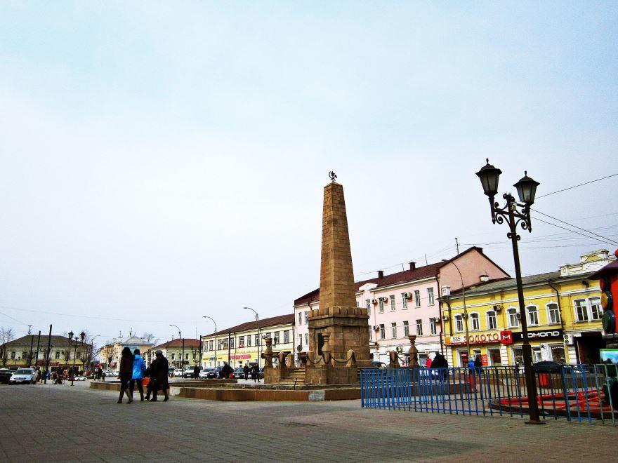 Площадь Революции 1905 года город Улан-Удэ