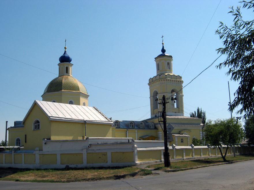 Смотреть красивое фото Свято-Никольский храм город Таганрог