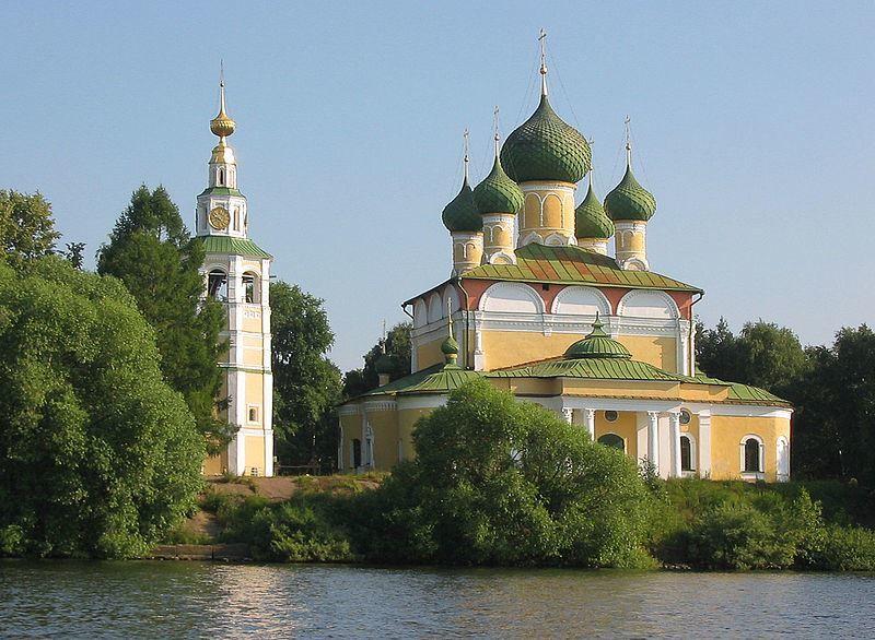 Церковь Преображения город Углич