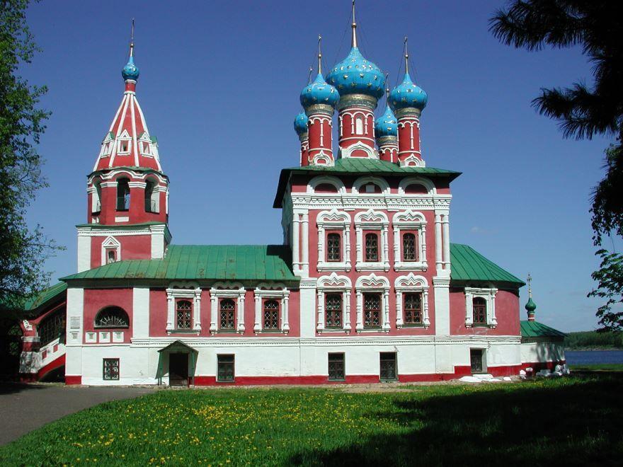 Скачать онлайн бесплатно лучшее фото достопримечательности города Углич в хорошем качестве