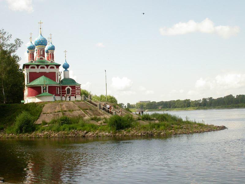 Угличский Кремль церковь Дмитрия на крови 1692 год