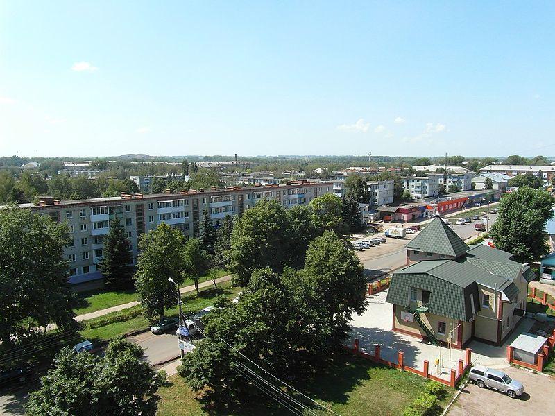 Скачать онлайн бесплатно лучшее фото города Узловая в хорошем качестве