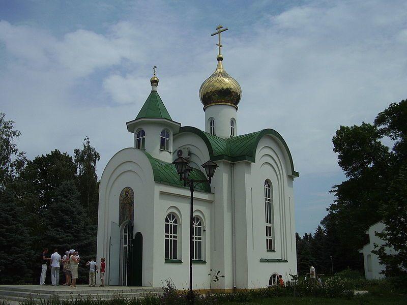 Церковь в парке город Тимошевск