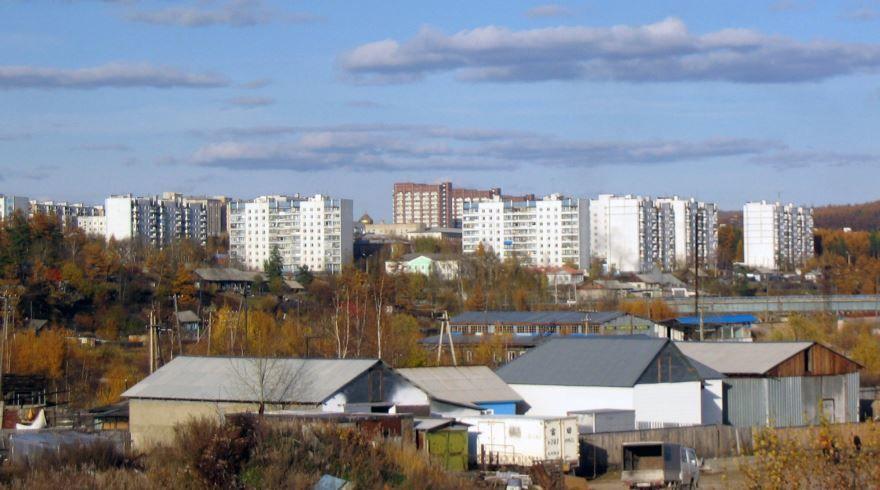 Скачать онлайн бесплатно лучшее фото вид на город Тында в хорошем качестве