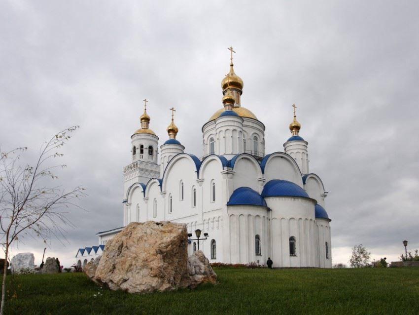 Смотреть красивое фото церковь город Чебаркуль
