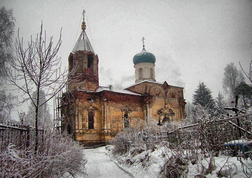 Церковь Иова Многострадального город Тихвин
