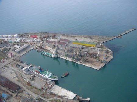 Смотреть красивое фото порт город Холмск