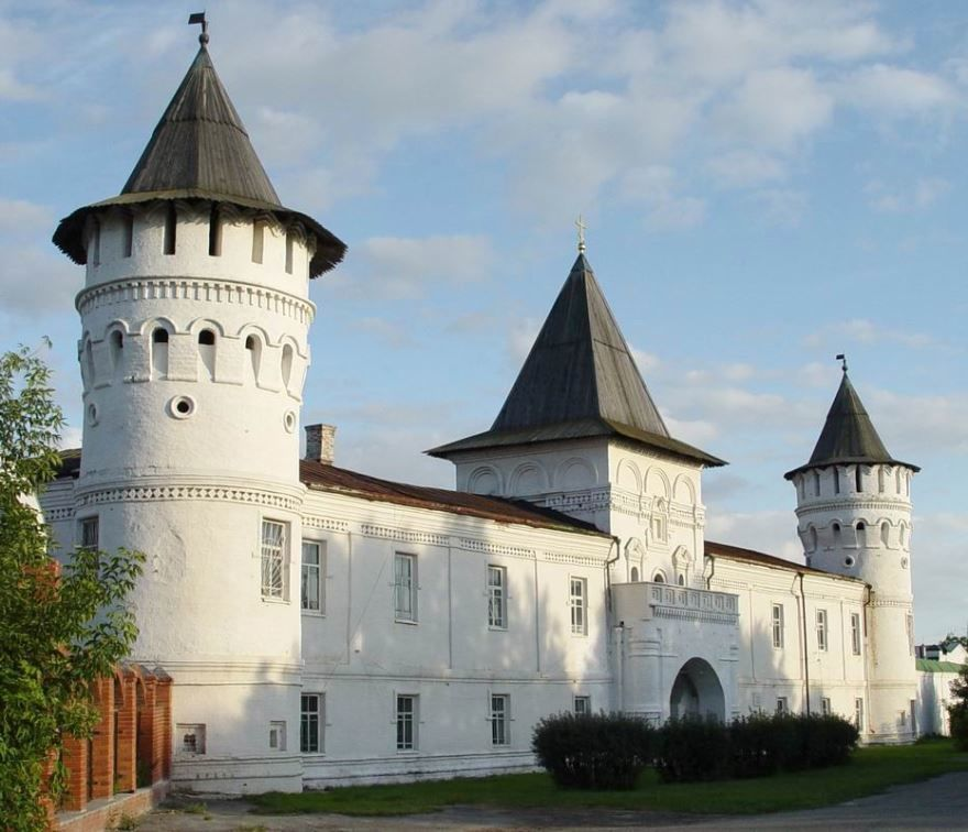 Гостиный двор Центр Евразийской торговли город Тобольск