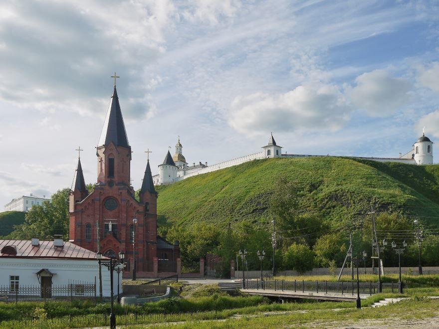 Храм Пресвятой Троицы город Тобольск
