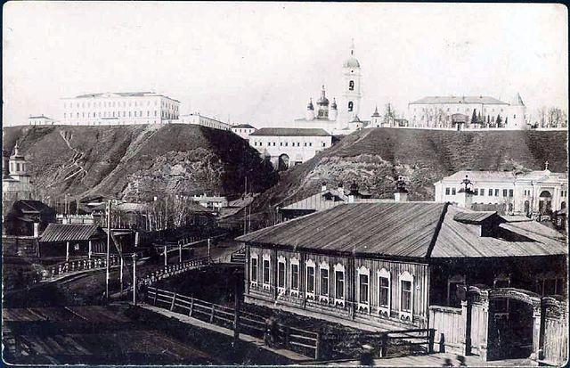 Смотреть лучшее старинное фото город Тобольск в хорошем качестве