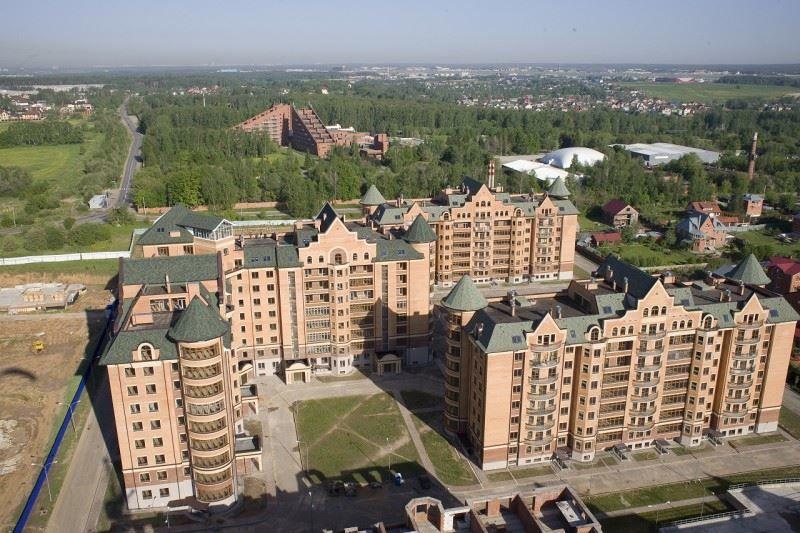Скачать онлайн бесплатно лучшее фото вид сверху город Химки в хорошем качестве