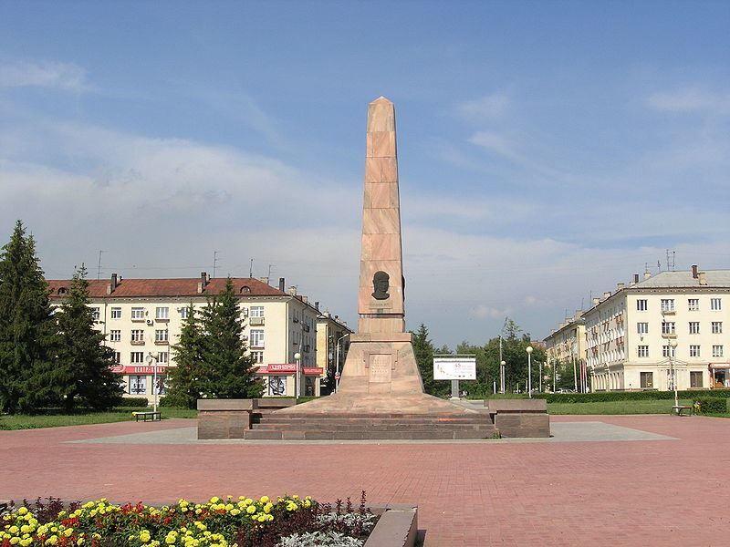 Обелиск Славы на площади Свободы город Тольятти