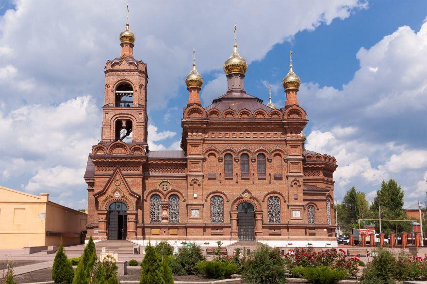 Крестовоздвиженская церковь город Хвалынск
