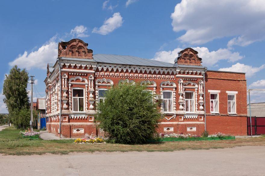 Дом Кащеева город Хвалынск