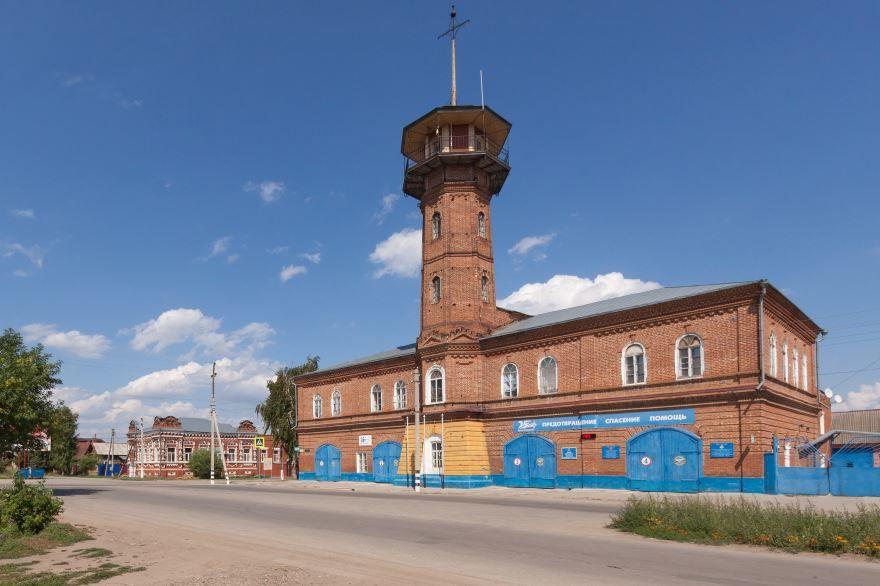 Здание пожарной каланчи город Хвалынск