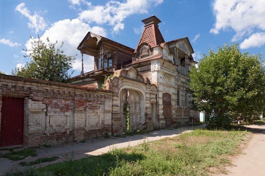 Особняк купца Чертухина город Хвалынск