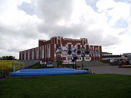 Смотреть красивое фото филармония города Томск в хорошем качестве
