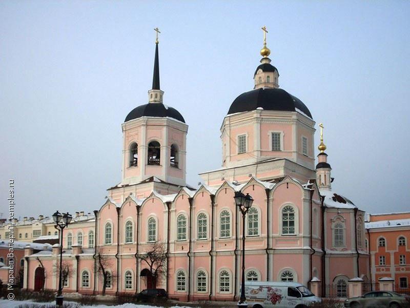 Богоявленский кафедральный собор город Томск