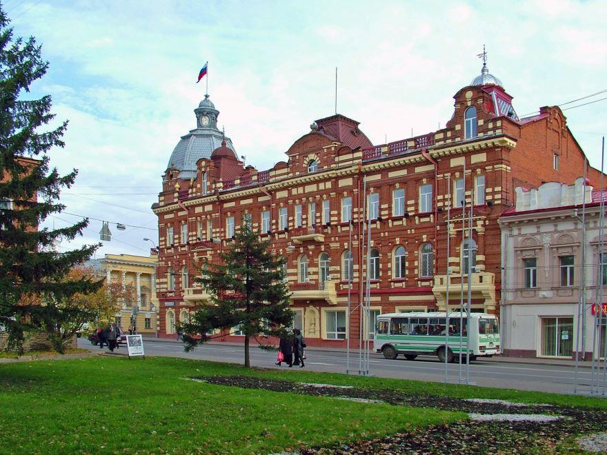 Скачать онлайн бесплатно лучшее фото достопримечательности города Томска в хорошем качестве