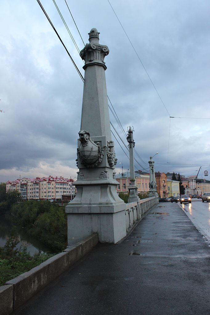 Каменный мост город Томск