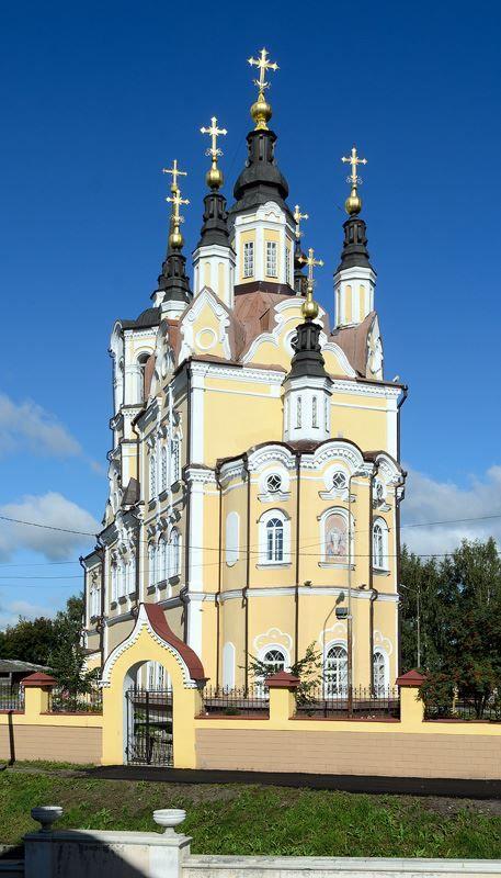 Воскресенская церковь город Томск