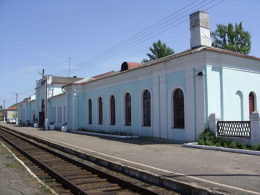 Железнодорожный вокзал город Торопец 2019